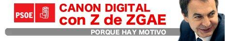 Canon digital con Z de ZGAE
