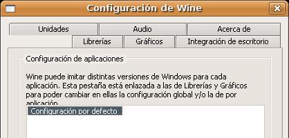 Wine con tema ClearLooks